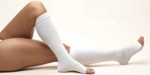 Лечение венозной отёчности компрессионным трикотажем
