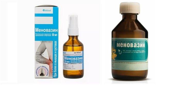 Лечение Меновазином