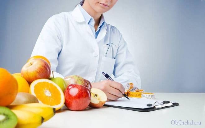 Правильная диета после операции