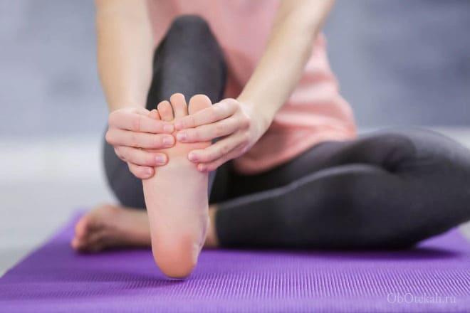 Самомассаж ноги