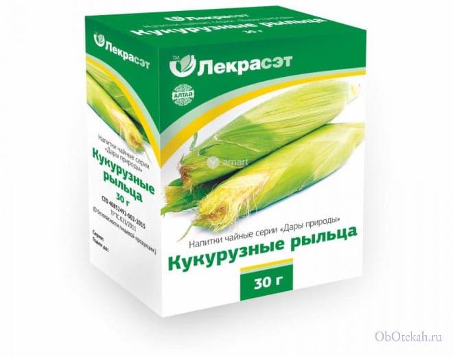 Упаковка кукурузных рыльц