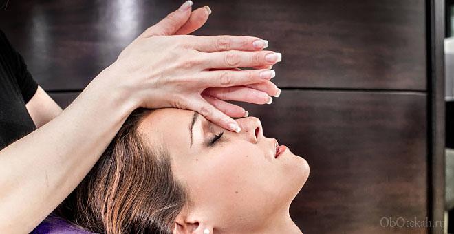 Как массировать нос