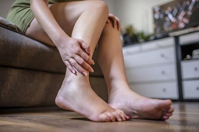 Опухли ноги после деторождения